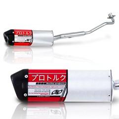 Escapamento Esportivo Alumínio Pro Tork V Pro Biz 125 2006 Até 2010
