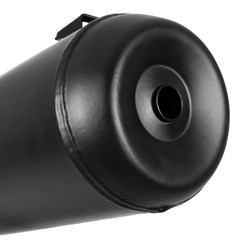 Escapamento Modelo Original Preto Titan 150 2014/CG Start 150 2014 Pro Tork