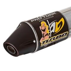 Escapamento Modelo Turbo Yamaha YBR 125 Factor 2009 Até 2013 Pro Tork