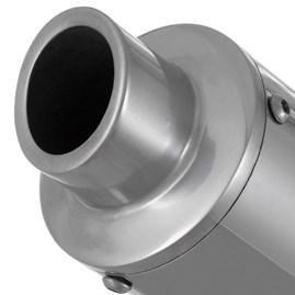 Escapamento Roncar Aluminium Redondo Fazer 150 2013/14