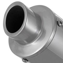 Escapamento Roncar Aluminium Redondo Titan 125 2000/04 e Fan 125 2005/08