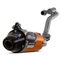 Escape Completo Powercore 3 CRF 230 Pro Tork Dourado 2008 a 2020