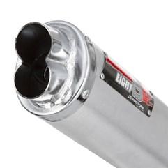 Escape Modelo Eight Com Abraçadeira Alumínio CBX 250 Twister 2001 Até 2008 Pro Tork