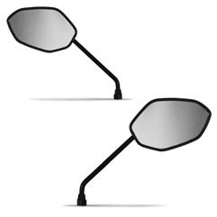 Espelho Retrovisor Par Mini Original Titan 150/Fan 125 2009 Até 2013 Pro Tork