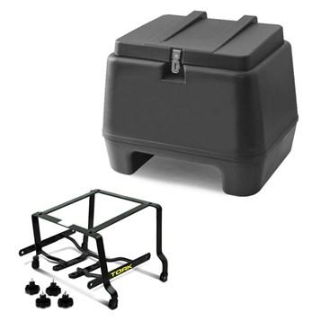 Kit Baú 80 Litros + Suporte Removível Fazer 150 2014 Pro Tork