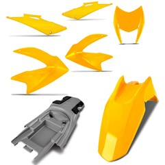 Kit Carenagem 5 Peças Pro Tork NXR 150 Bros 2009 Até 2011