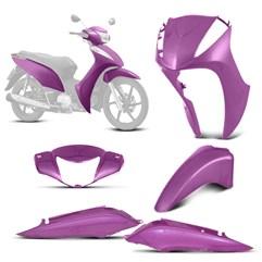 Kit Conjunto Carenagem Honda Biz 125 2011 Até 2013 Pro Tork