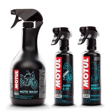 Kit Motul Limpeza Moto E2 + E5 + E7
