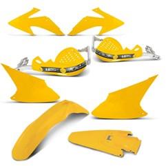 Kit Peças Plástico CRF 230 2008/14 + Protetor de Mão HPS