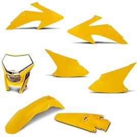 Kit Peças Plástico CRF 230 2008 Até 2014 + Farol Pro Tork