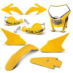 Kit Peças Plástico CRF 230 2008 Até 2014 Pro Tork