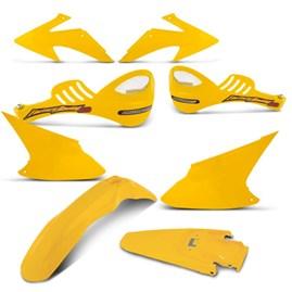Kit Peças Plástico CRF 230 2008 Até 2014 + Protetor de Mão 788 Pro Tork