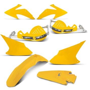 Kit Peças Plástico CRF 230 2008 Até 2014 + Protetor de Mão HPS Pro Tork