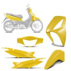 Kit Plástico Carenagem Moto Honda Biz 125 2006 à 2010