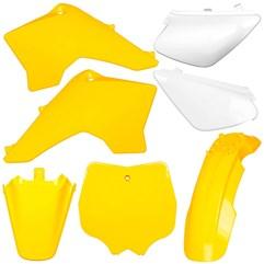 Kit Plástico Carenagem Moto Pro Tork Tr50f Tr100f Amarelo