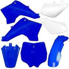Kit Plástico Carenagem Moto Pro Tork Tr50f Tr100f Azul