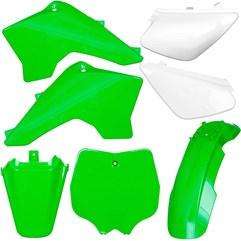 Kit Plástico Carenagem Moto Pro Tork Tr50f Tr100f Verde