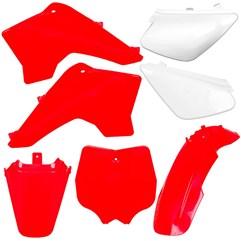 Kit Plástico Carenagem Moto Pro Tork Tr50f Tr100f Vermelho