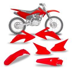Kit Plástico Crf 230 2008/14  Vermelho