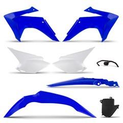 Kit Plástico CRF 230 2015 Blue Pro Tork Com Suporte