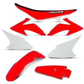 Kit Plástico CRF 230 + Banco 2008 Até 2014 Pro Tork