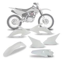Kit Plástico CRF 230 Branco 2008/14