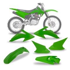 Kit Plástico CRF 230 Verde 2008/14