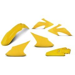 Kit Plástico Crf 230f 2008 À 2014 Amarelo + Par de Aros