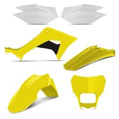 Kit Plástico CRF 250F 2019 Pro Tork Amarelo