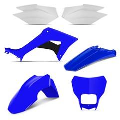 Kit Plástico CRF 250F 2019 Pro Tork Azul