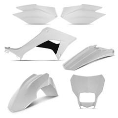 Kit Plástico CRF 250F 2019 Pro Tork Branco