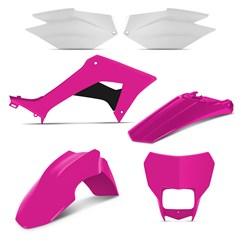 Kit Plástico CRF 250F 2019 Pro Tork Pink