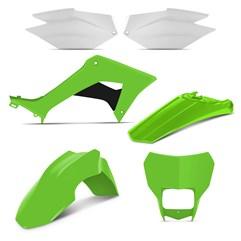 Kit Plástico CRF 250F 2019 Pro Tork Verde