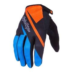 Luva Troy Lee Ace Glove Azul/Laranja