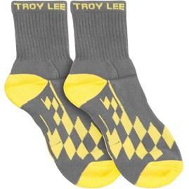 Meia Troy Lee Crew Checker