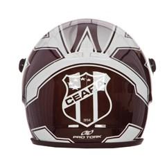 Mini Capacete Ceará Futebol Clube