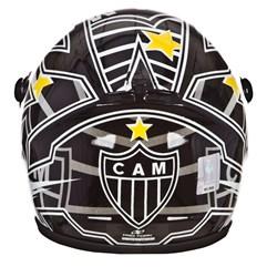 Mini Capacete Decorativo Oficial Atlético Mineiro Pro Tork