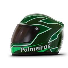 Mini Capacete Decorativo Oficial Palmeiras Pro Tork