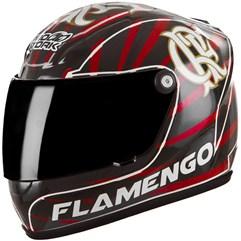 Mini Capacete Flamengo