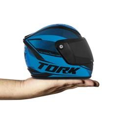 Mini Capacete Pro Tork 788 Factory Edition Azul
