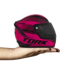 Mini Capacete Pro Tork 788 Factory Edition Rosa