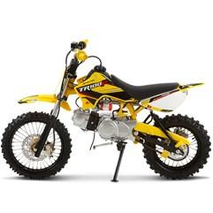 Mini Moto Cross 100cc Pro Tork TR100F Amarelo