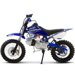 Mini Moto Cross 100cc Pro Tork TR100F Azul