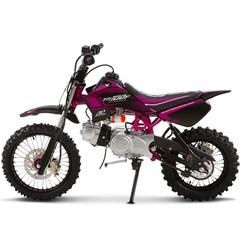 Mini Moto Cross 100cc Pro Tork TR100F Rosa