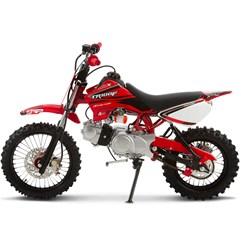 Mini Moto Cross 100cc Pro Tork TR100F Vermelho