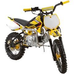 Mini Moto Cross 50cc Pro Tork TR50F Amarelo