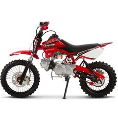 Mini Moto Cross 50cc Pro Tork TR50F Vermelho