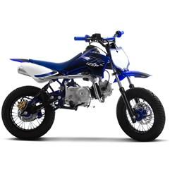 Mini Moto Supermotard Pro Tork TR 125F Aro 12x12 Azul