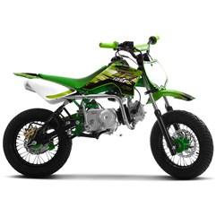 Mini Moto Supermotard Pro Tork TR 125F Aro 12x12 Verde