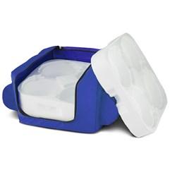Mochila Térmica Para Entrega Marmita (12 Un.) Azul
